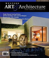Cover of Western Art & Architecture Magazine